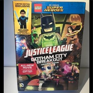 Other - Lego justice league dvd set nightwing mini figure
